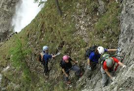 Klettersteig Chäligang : Klettersteig chäligang